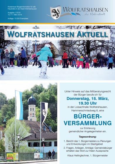Wolfratshausen aktuell - Ausgabe 032018