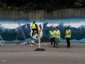 Serpentinen Graffiti Wolfratshausen