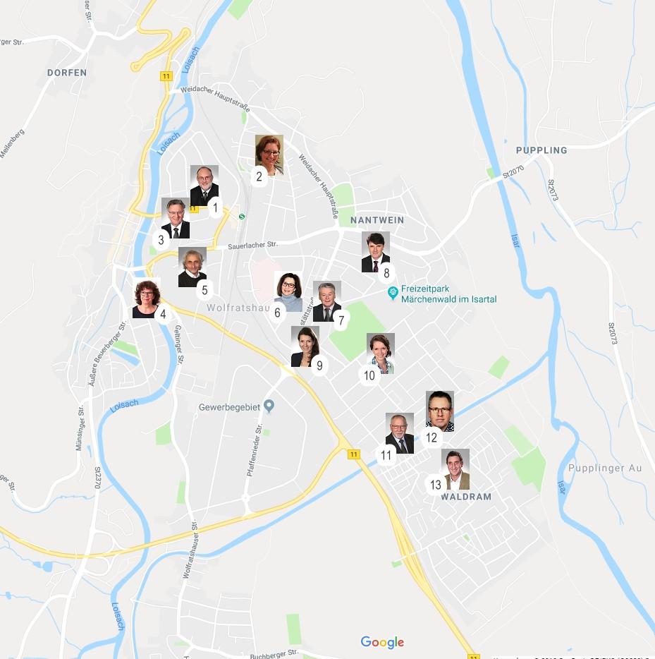BVWOR nah dran - die Bürgervereinigung Wolfratshausen ist für sie da