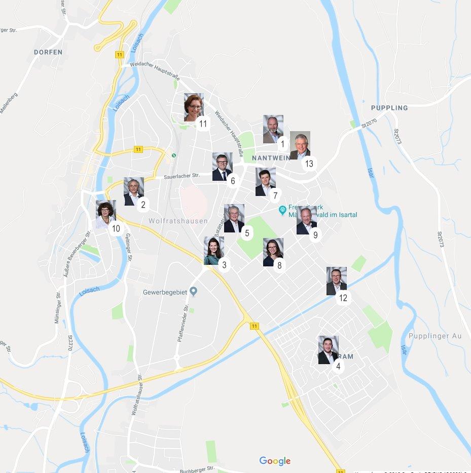 BV Nah dran - der direkte Kontakt zur Bürgervereinigung Wolfratshausen