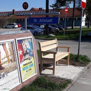 Mitfahrbankerl in Wolfratshausen