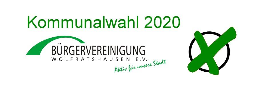 Kommunalwahl 2020 - Bürgervereinigung Wolfratshausen e.V.