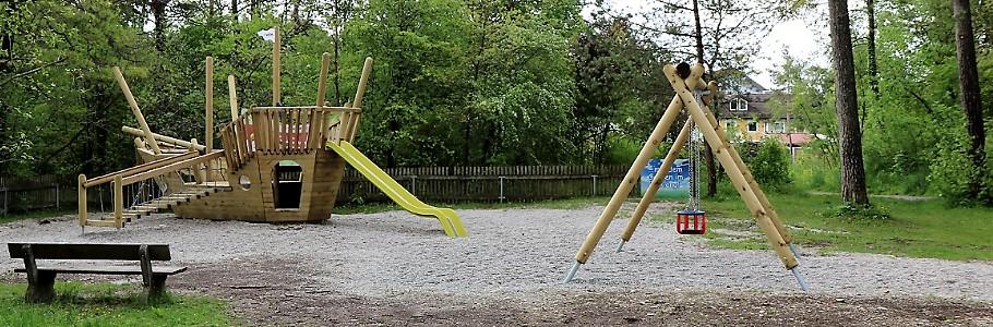 Spielplätze in Wolfratshausen