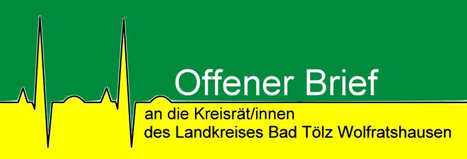 Offener Brief & Infos zur Kreisklinik Wolfratshausen