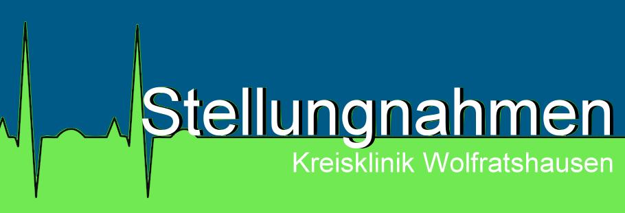 """Stellungnahmen zu """"Kreisklinik Wolfratshausen"""""""