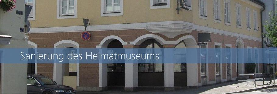 Sanierung des Heimatmuseums
